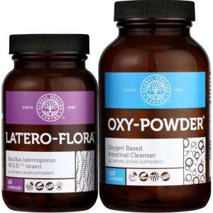 Latero Flora and Oxy Powder