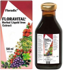 Floravital Herbal Liquid Iron Extract