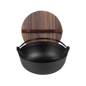 Iron Japanese Style Sukiyaki Tetsu Nabe Shabu Hot Pot