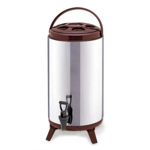 SOGA 18L Portable Insulated Cold-Heat Coffee Tea Beer Barrel Brew Pot With Dispenser