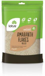 Lotus Organic Amaranth Flakes Rolled