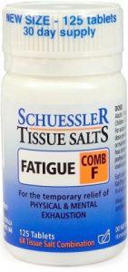 Schuessler Tissue Salts Comb F - Fatigue