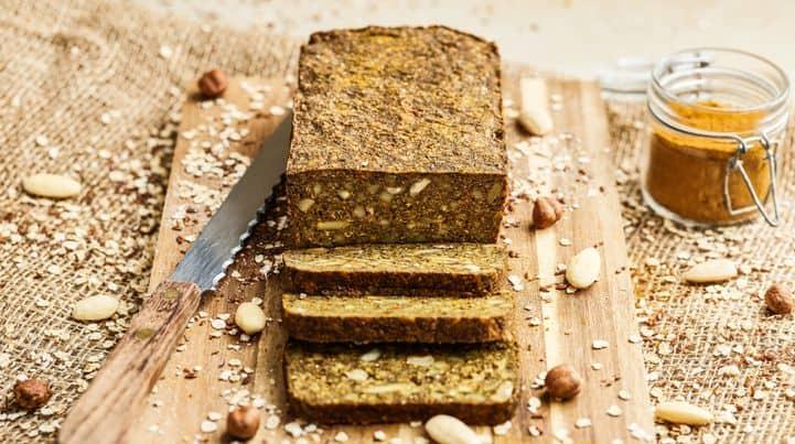 Turmeric Hemp Bread