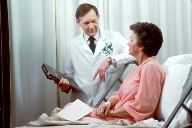 doctor conversation